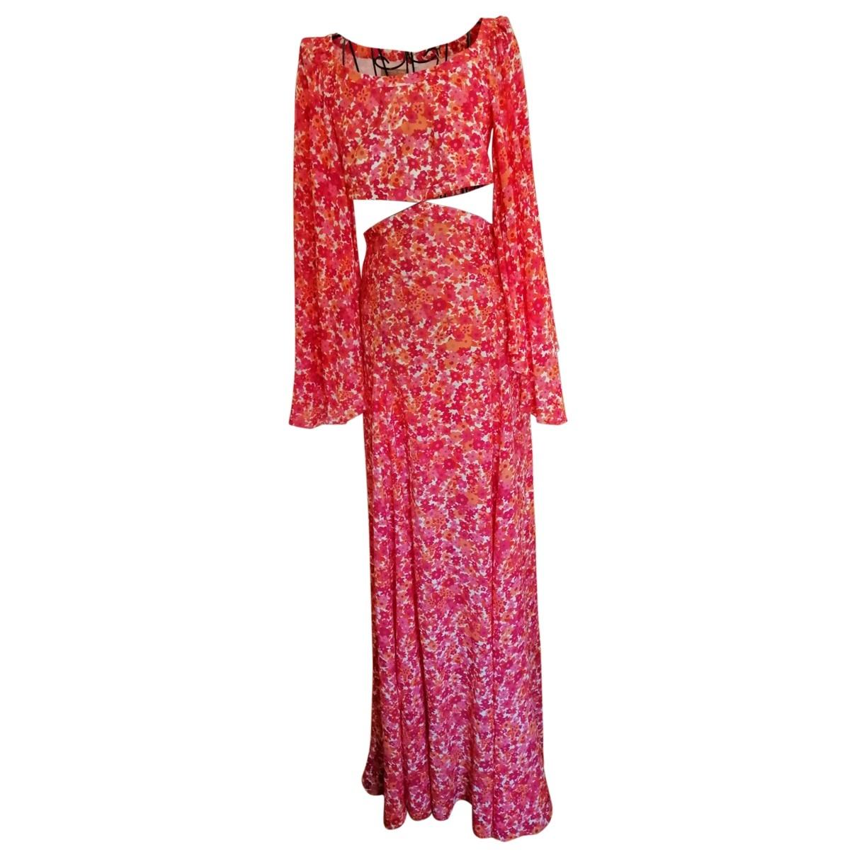 Michael Kors - Robe   pour femme en soie - rose