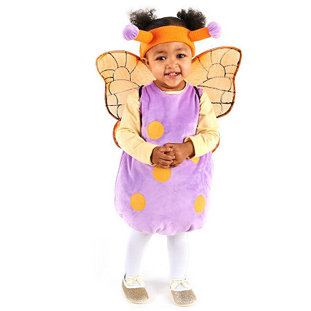 Magical Butterfly Infant Costume Girls Costume, 12-18 Months , Purple