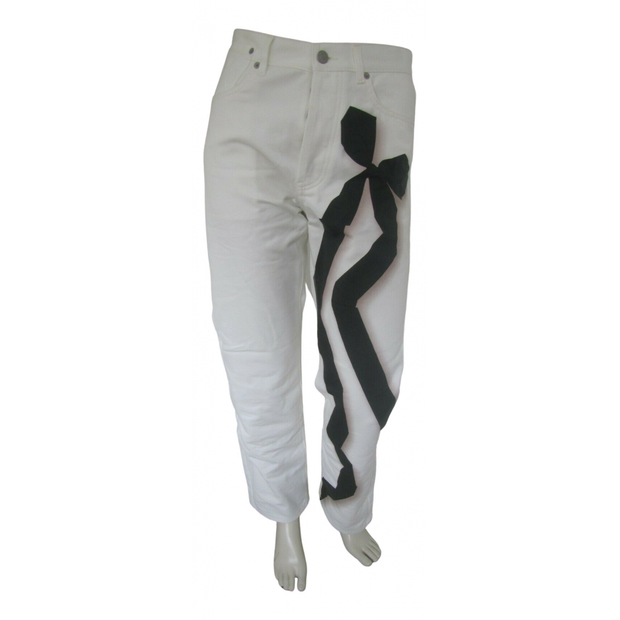 Dries Van Noten \N White Cotton Jeans for Women 29 US