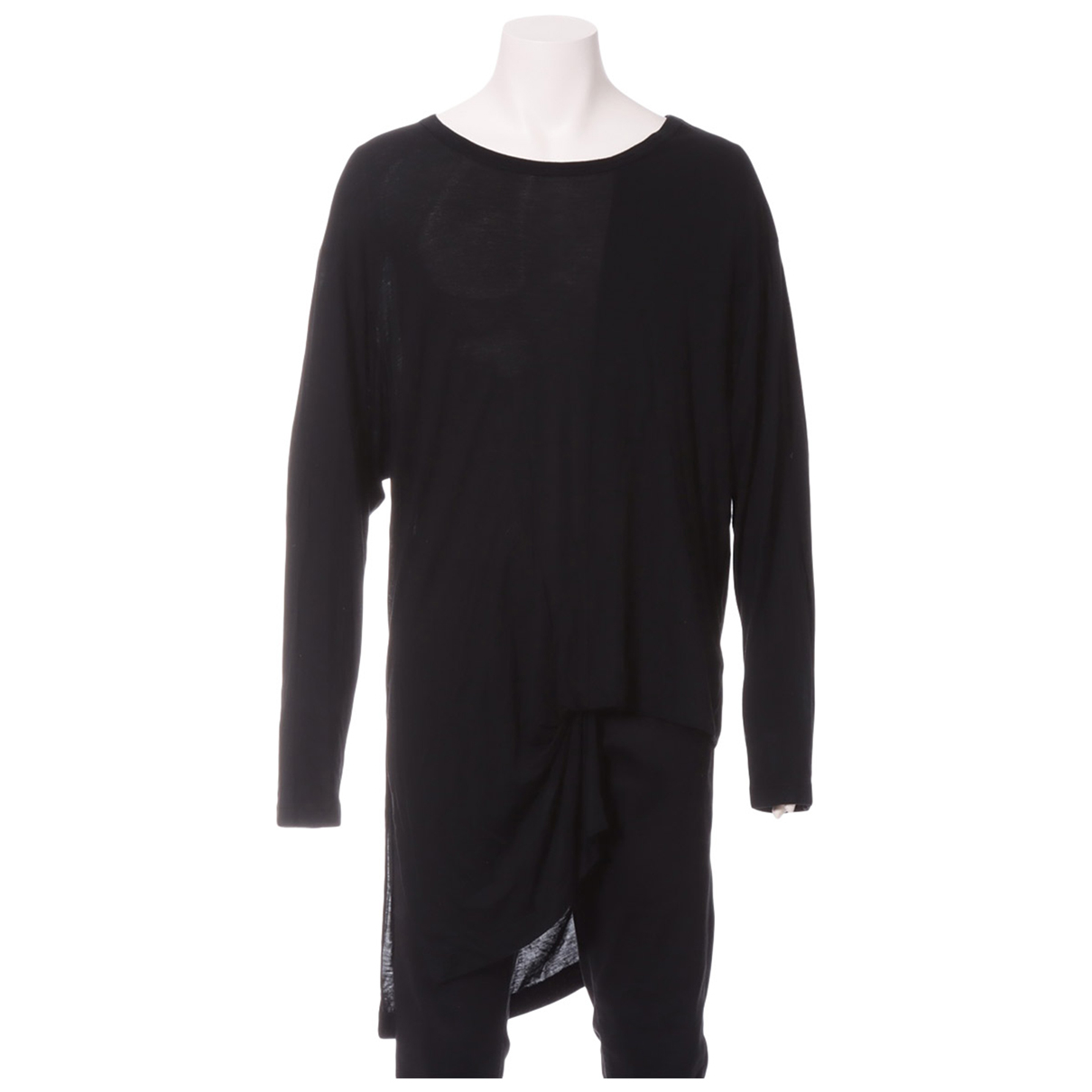 Yohji Yamamoto N Black T-shirts for Men 3 0 - 6