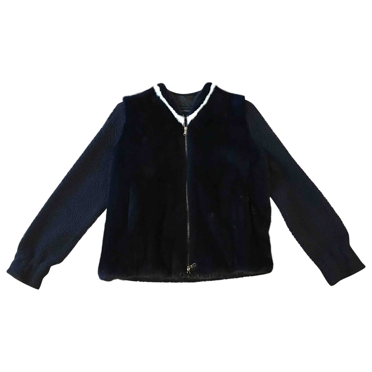 Ines Et Marechal \N Blue Mink jacket for Women 36 FR