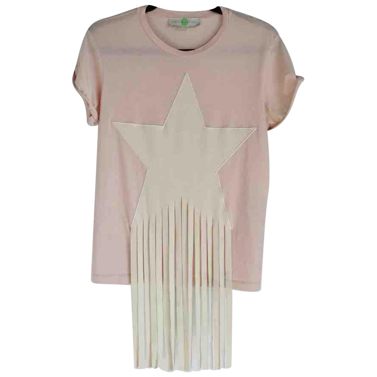 Stella Mccartney - Top   pour femme en coton - rose