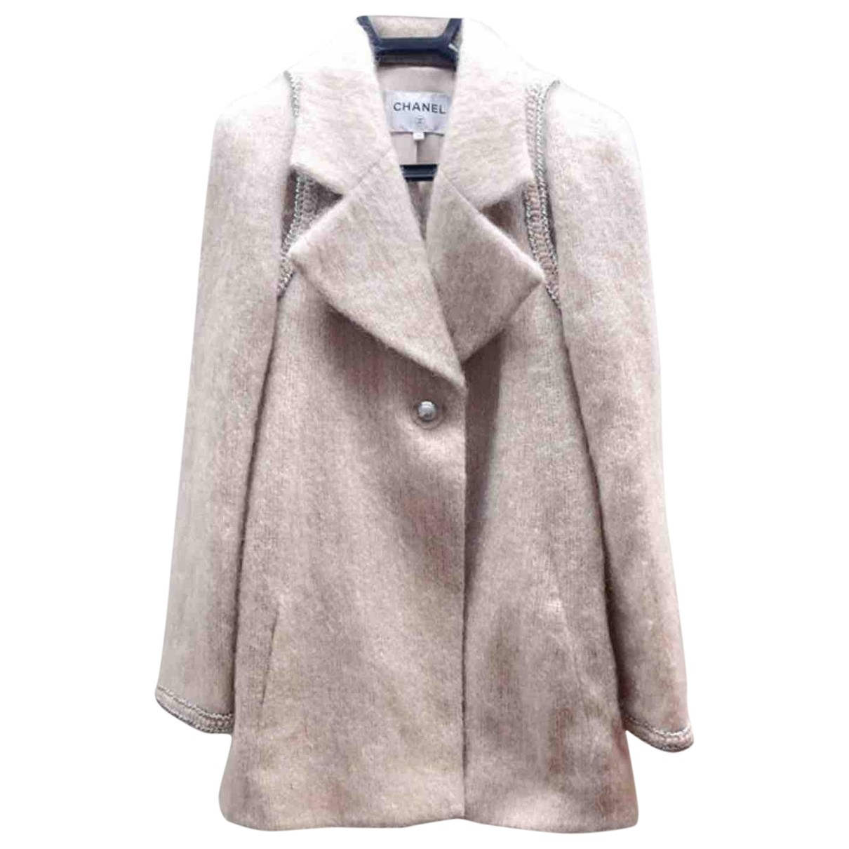 Chanel - Manteau   pour femme en cachemire - blanc