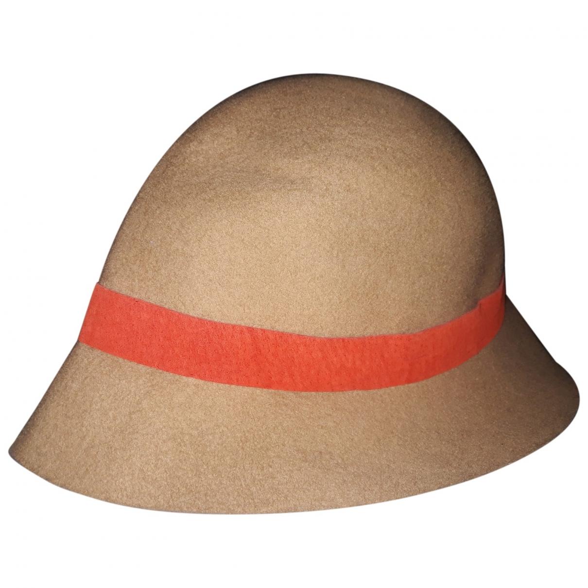 Emporio Armani \N Camel Wool hat for Women 57 cm