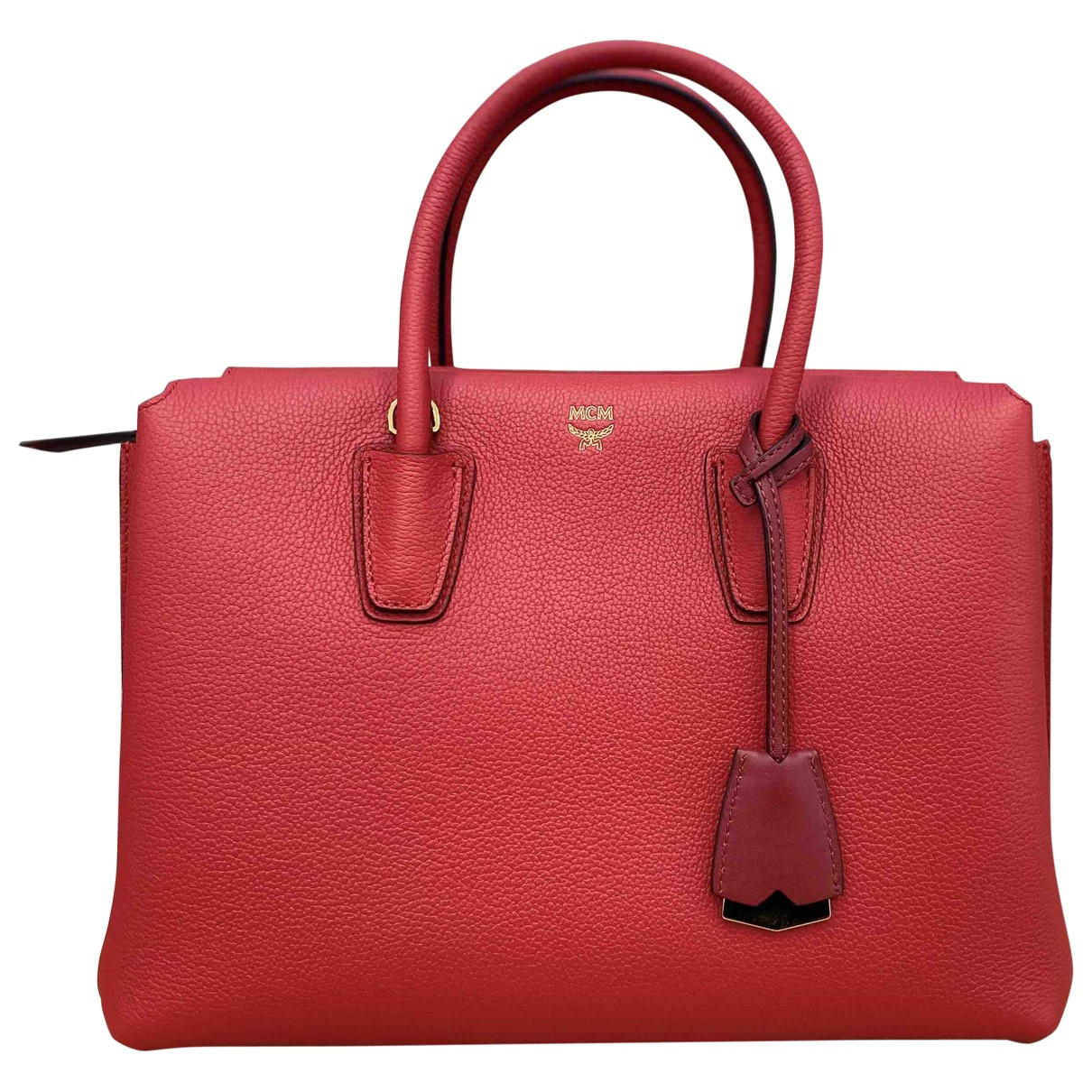 Mcm Milla Red Leather handbag for Women \N