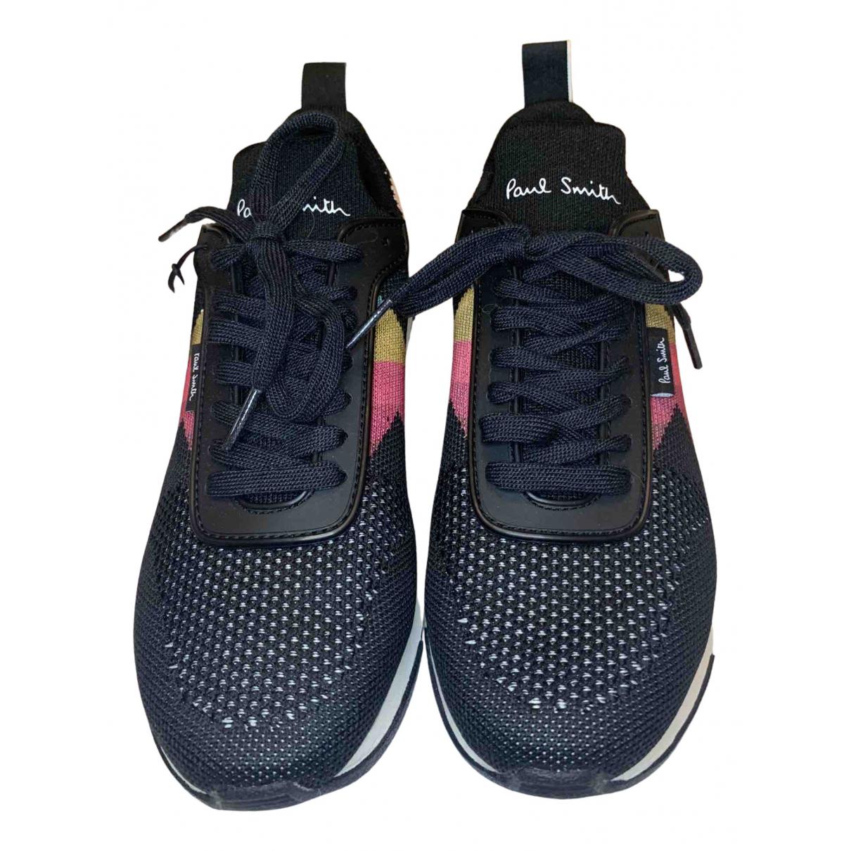 Paul Smith \N Sneakers in  Schwarz Leinen