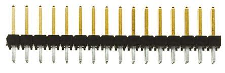 Samtec , TSW, 32 Way, 2 Row, Straight Pin Header