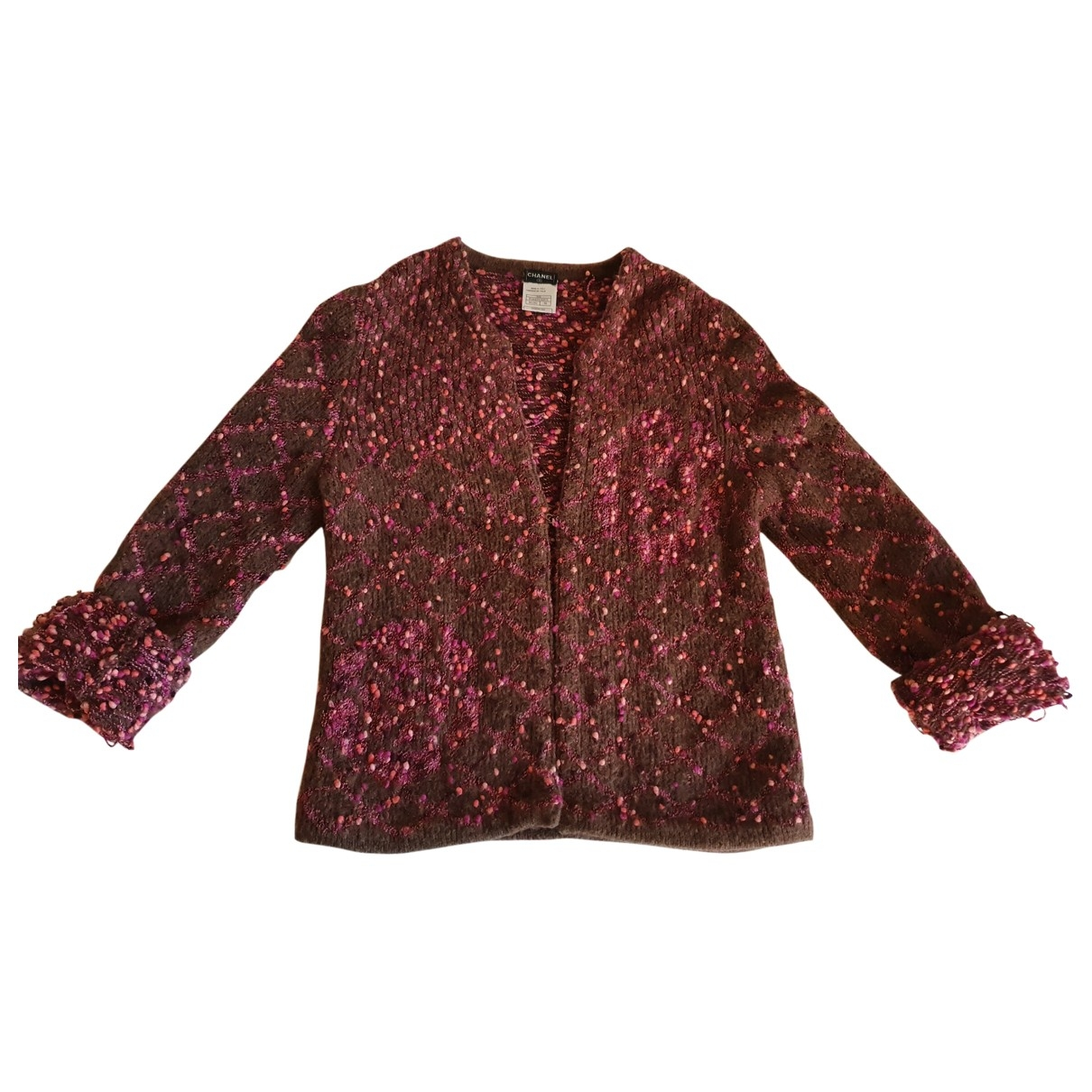 Chanel - Pull   pour femme en laine - multicolore