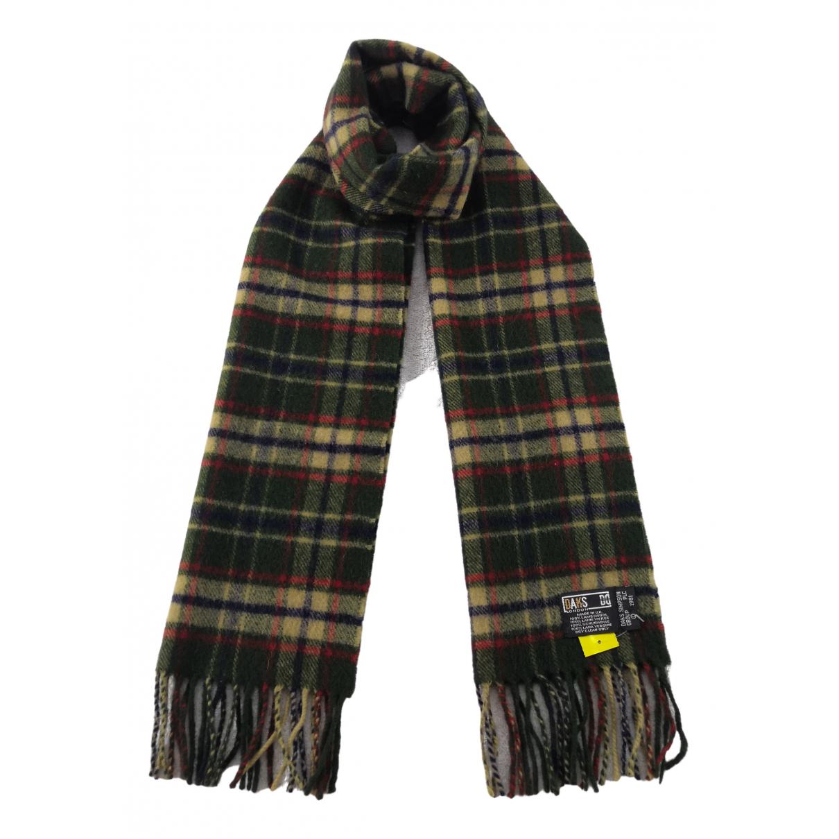 Daks \N Brown Wool scarf & pocket squares for Men \N
