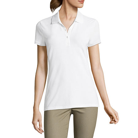 Arizona Short-Sleeve Polo Shirt, X-small , White