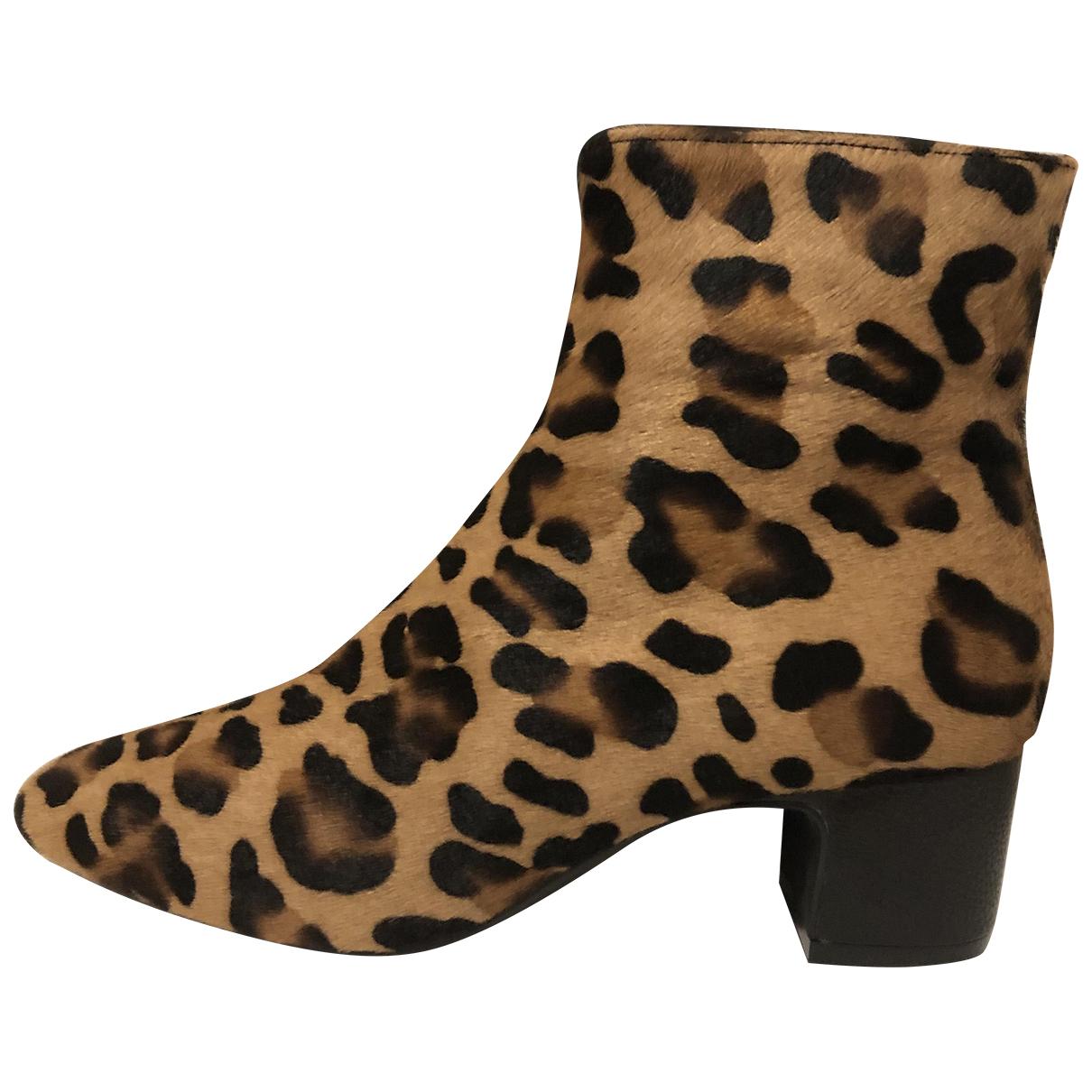 Roberto Festa - Boots   pour femme en fourrure