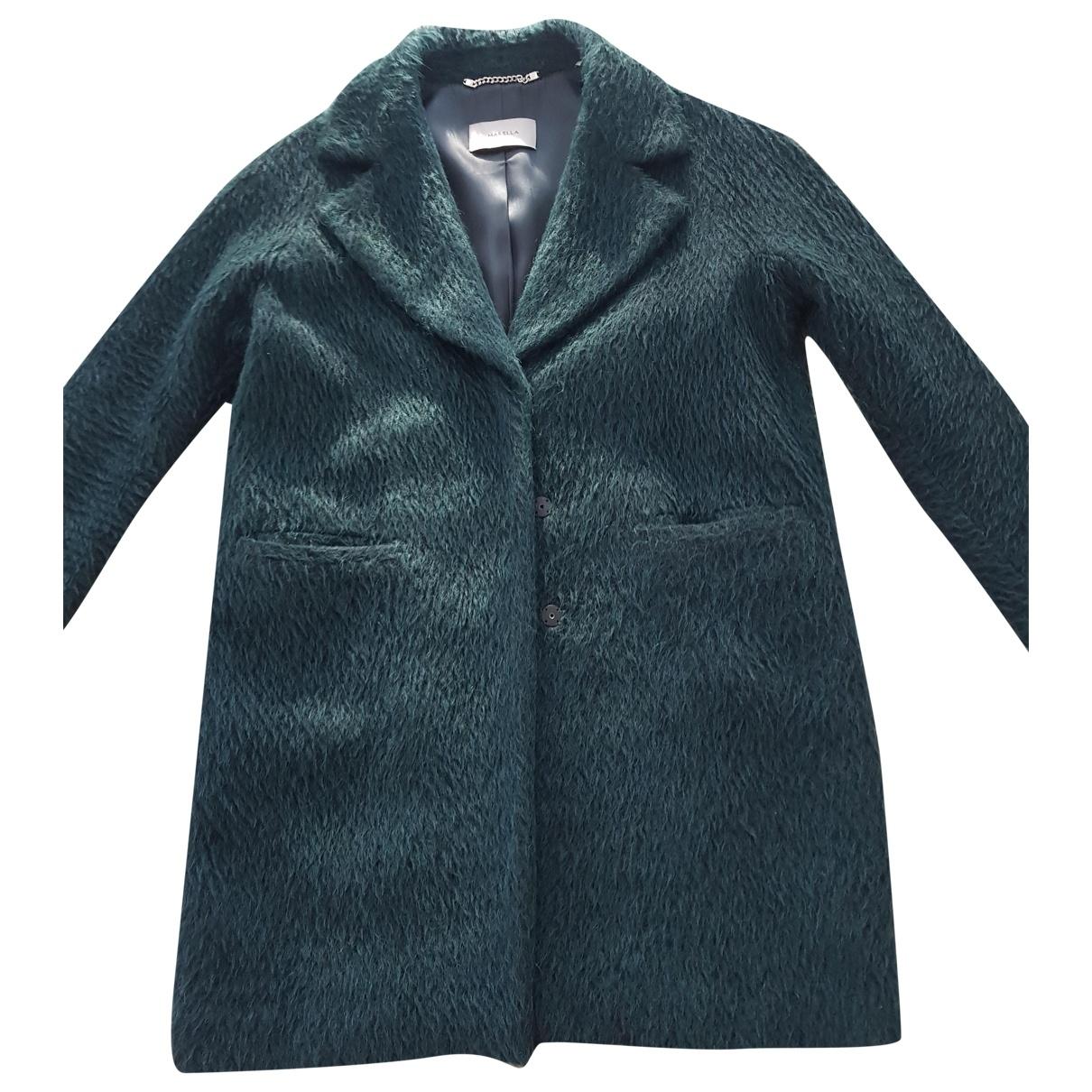 Marella - Veste   pour femme en laine - vert