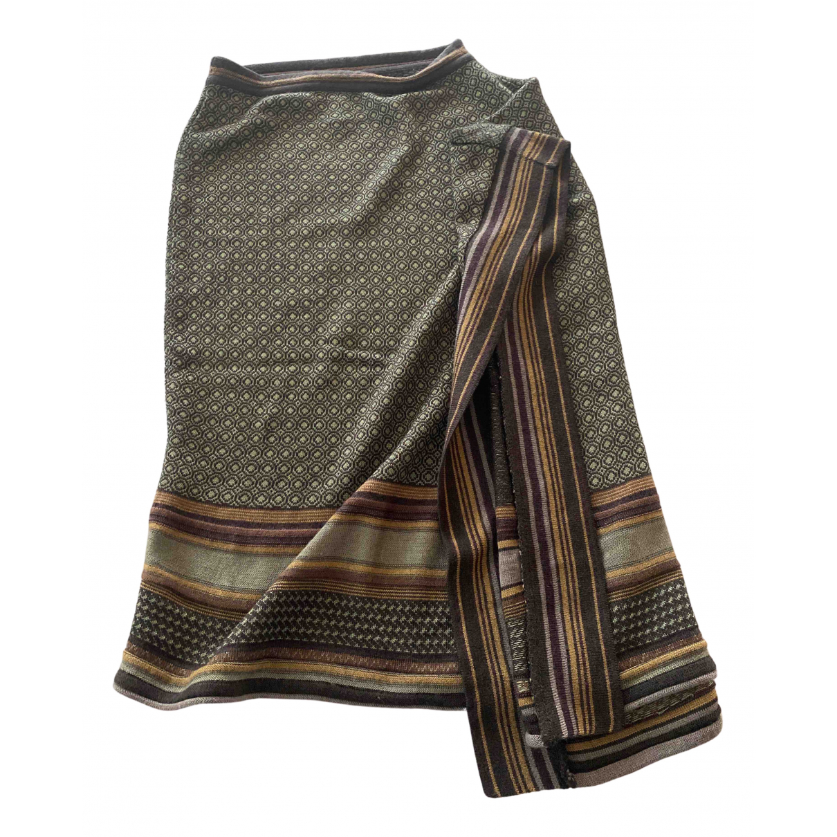 Kenzo \N Rocke in  Khaki Wolle