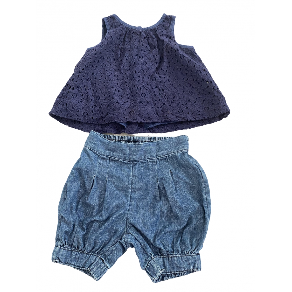 Ralph Lauren \N Blue Denim - Jeans Outfits for Kids 3 months - until 24 inches UK