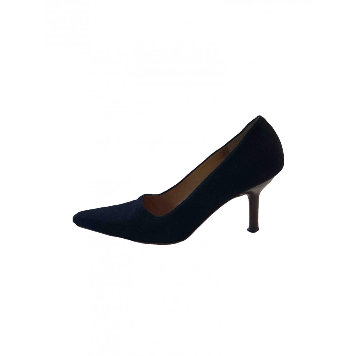 Gucci \N Black Suede Heels for Women 36.5 EU