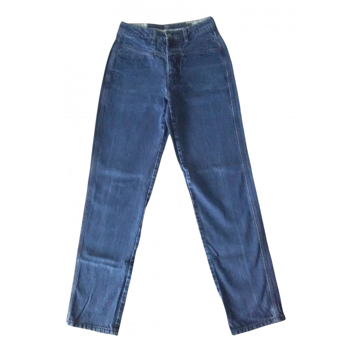 Non Signé / Unsigned N Blue Denim - Jeans Jeans for Women 38 FR