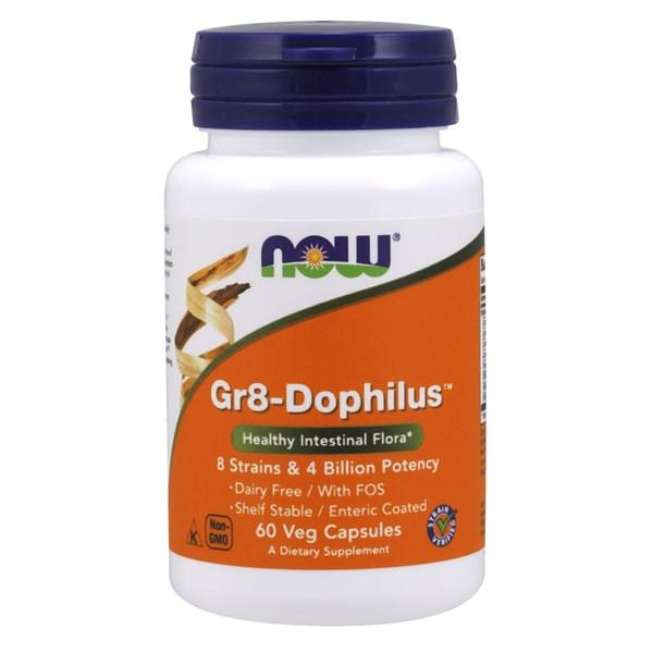 Gr 8 Dophilus 60 Vcaps by Now Foods