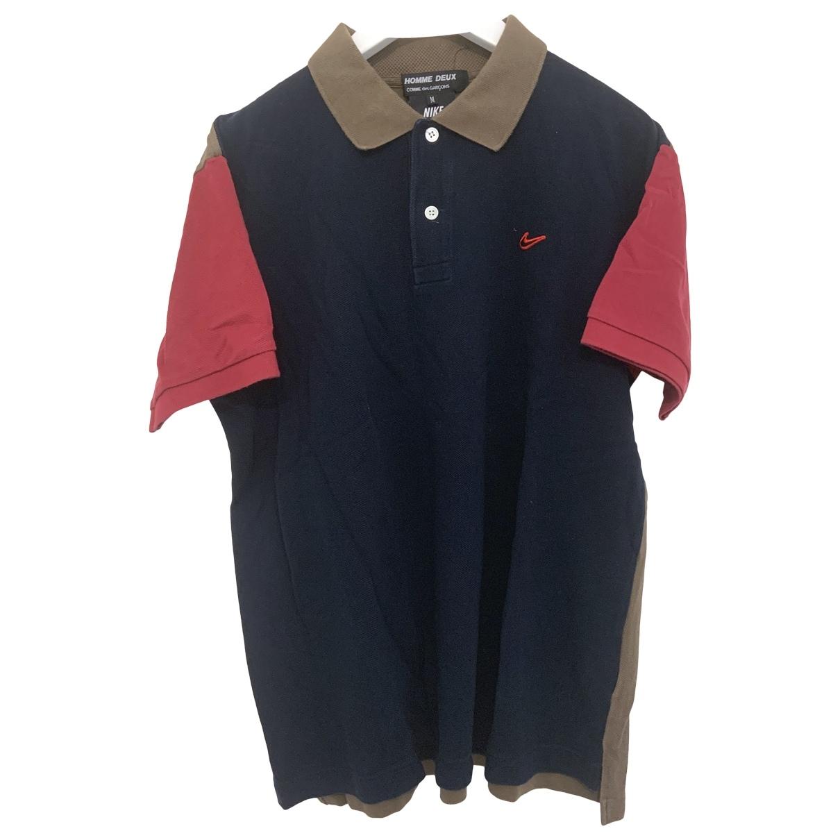 Polo en Algodon Marino Nike X Comme Des Garcons