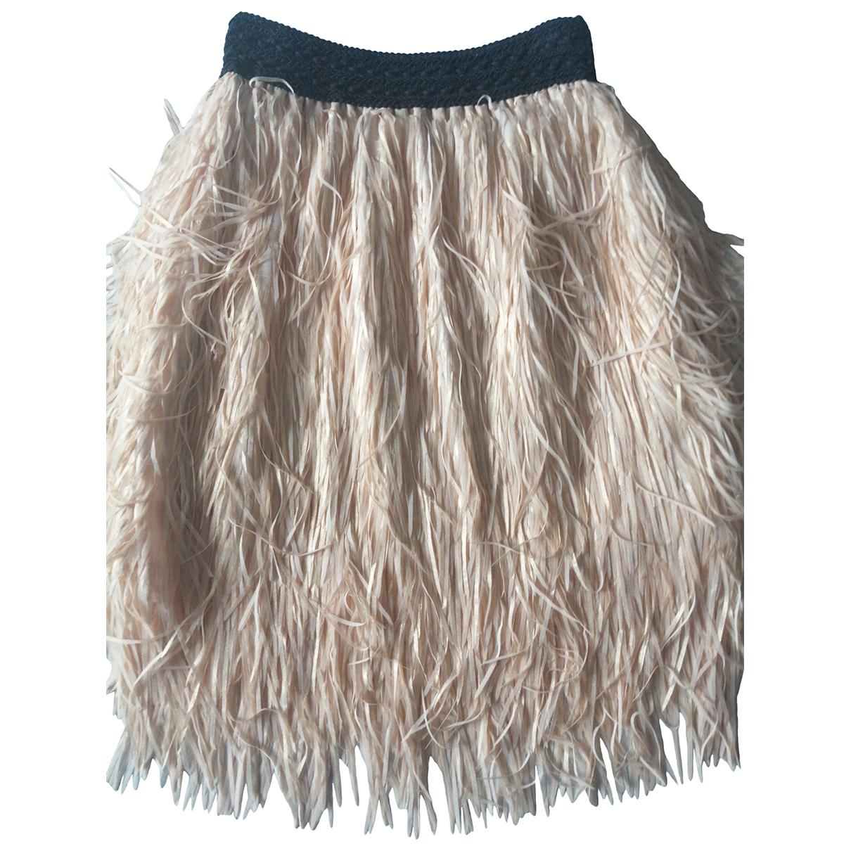 Non Signé / Unsigned \N Beige skirt for Women S International