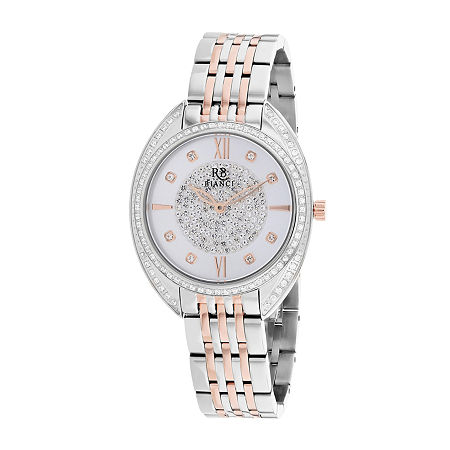 Roberto Bianci Womens Orange Stainless Steel Bracelet Watch-Rb0212, One Size , No Color Family