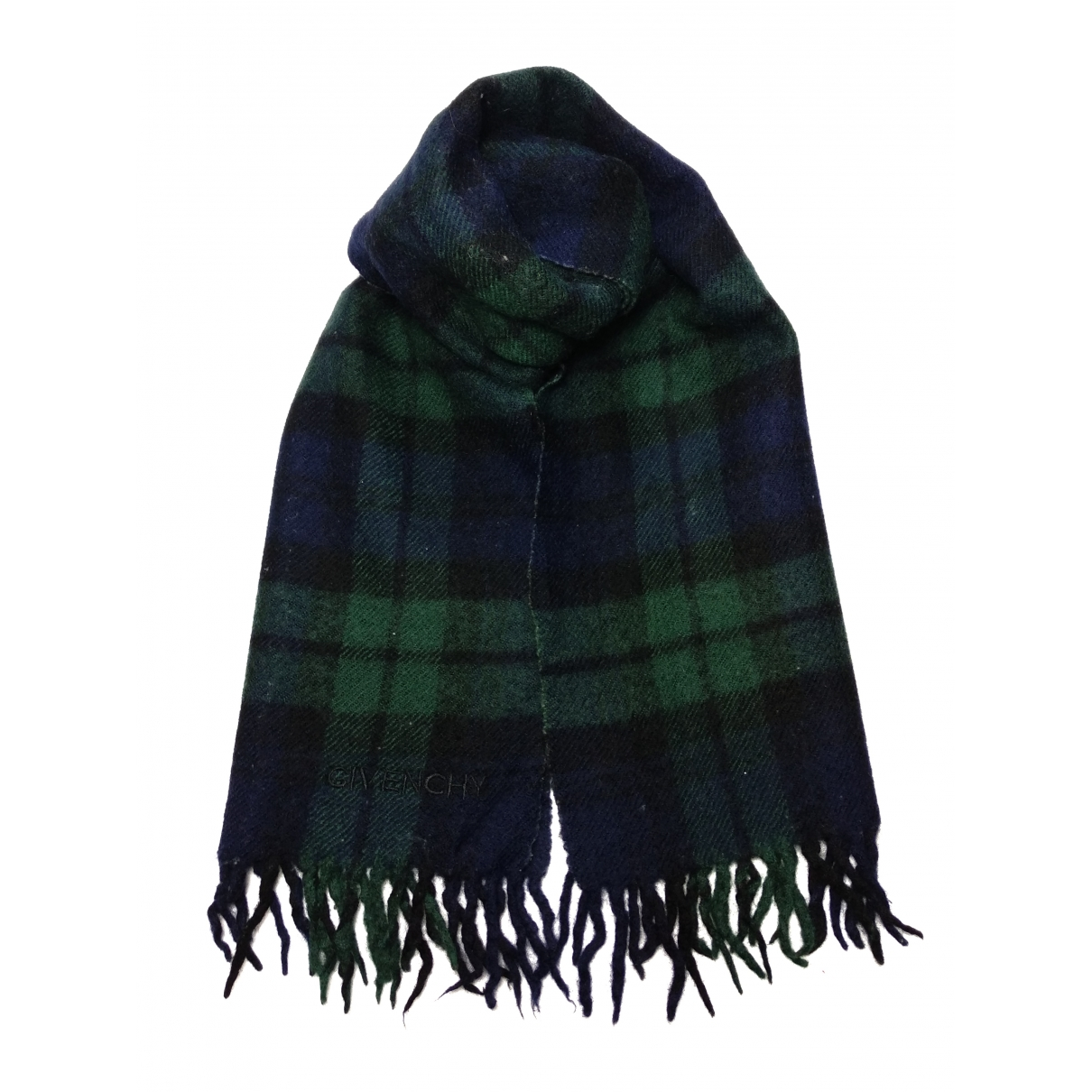 Givenchy \N Schal in  Gruen Wolle
