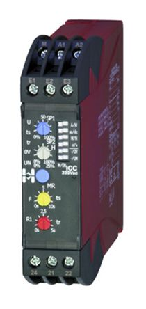 Hiquel Current Monitoring Relay With DPDT Contacts, 24 V ac Supply Voltage, 1 Phase