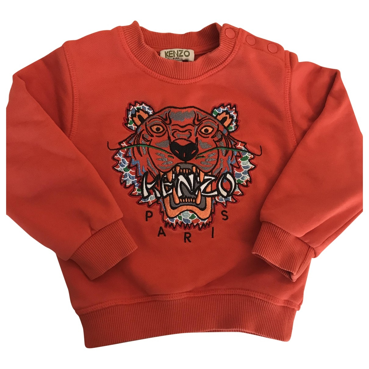 Kenzo \N Red Cotton Knitwear for Kids 2 years - up to 86cm FR