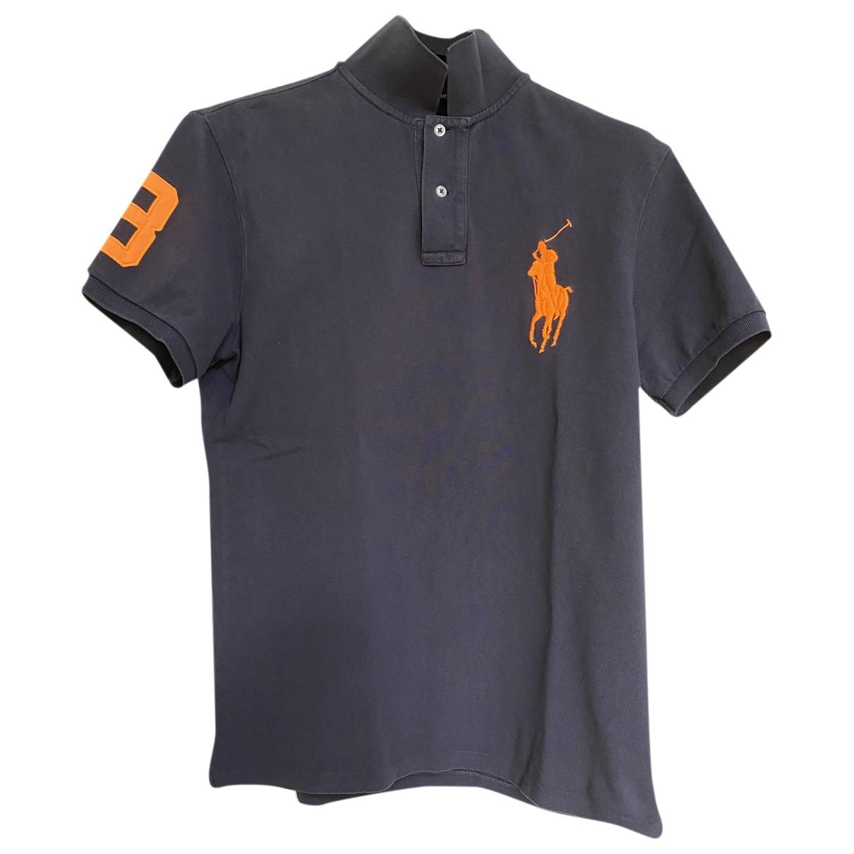 Polo en Algodon Gris Polo Ralph Lauren