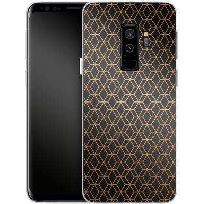 Samsung Galaxy S9 Plus Silikon Handyhuelle - Night Pattern von #basic