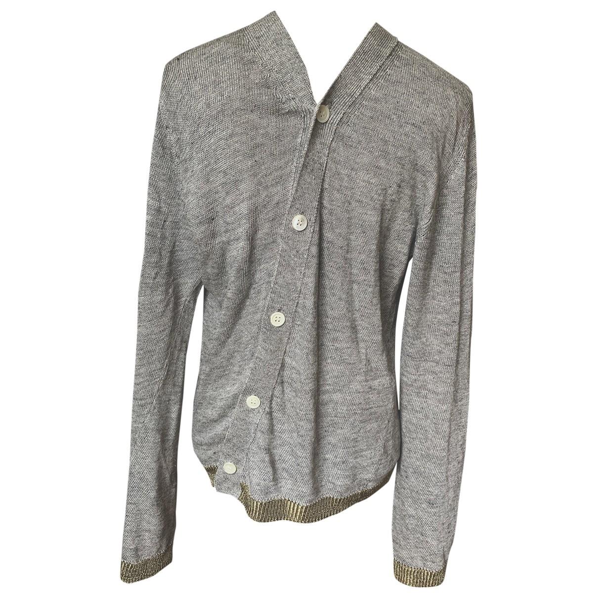 Comme Des Garcons \N Pullover.Westen.Sweatshirts  in  Grau Leinen