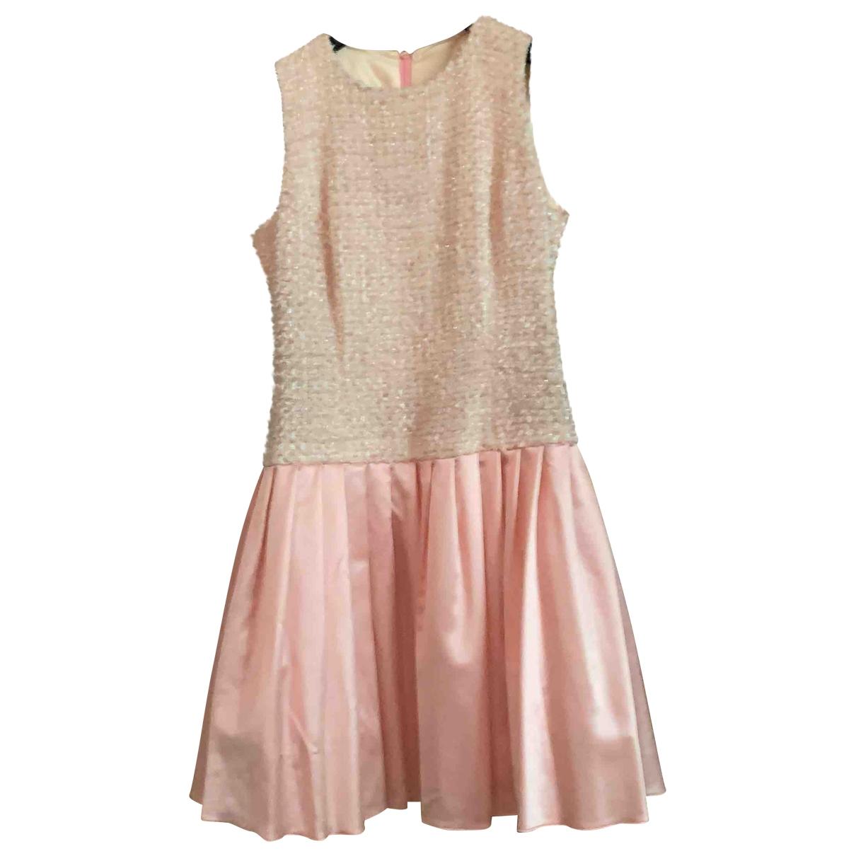Escada \N Pink Wool dress for Women 38 FR