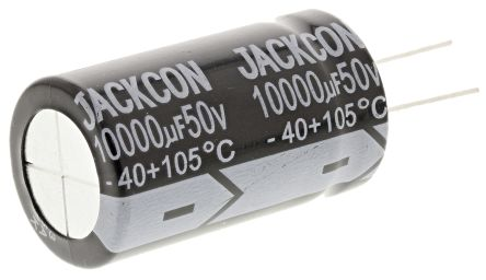 RS PRO 10000μF Electrolytic Capacitor 50V dc, Through Hole (2)
