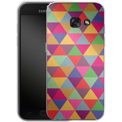 Samsung Galaxy A3 (2017) Silikon Handyhuelle - In Love With Triangles von Bianca Green
