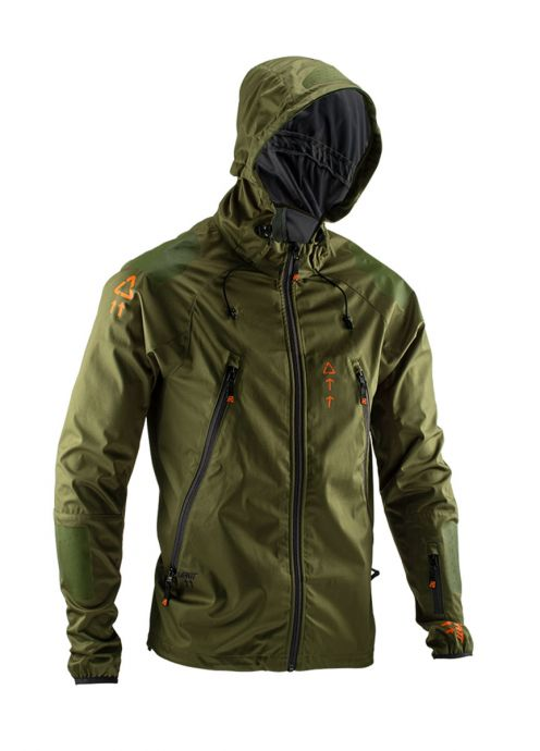 Leatt 5020002642 Forest DBX 4.0 All-Mountain Jacket Medium