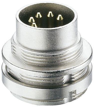 Lumberg 14 Pole Din Plug Plug, DIN EN 60529, 3A, 60 V ac IP68