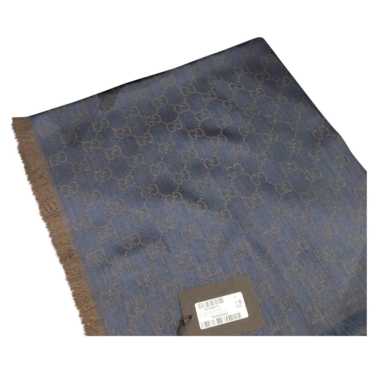 Gucci \N Blue Wool scarf for Women \N