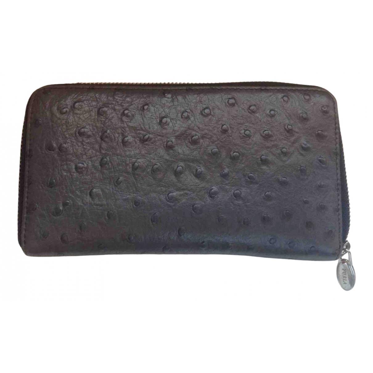 Furla - Portefeuille   pour femme en cuir - gris