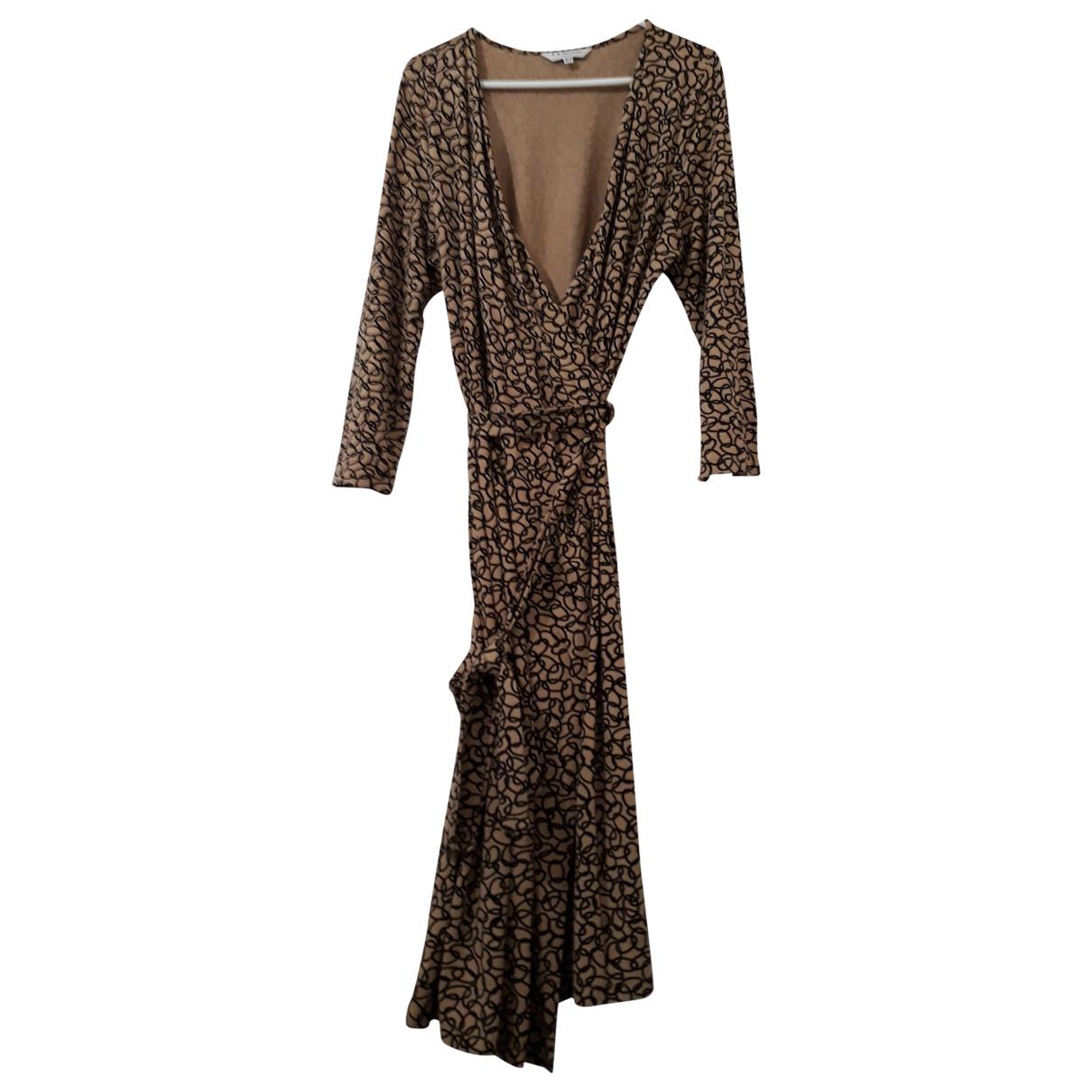 Lk Bennett \N Kleid in  Beige Viskose