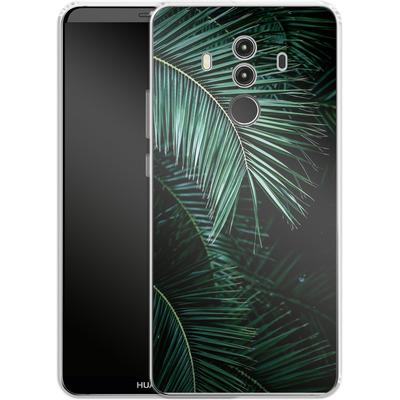 Huawei Mate 10 Pro Silikon Handyhuelle - Palm Leaves 9 von Mareike Bohmer