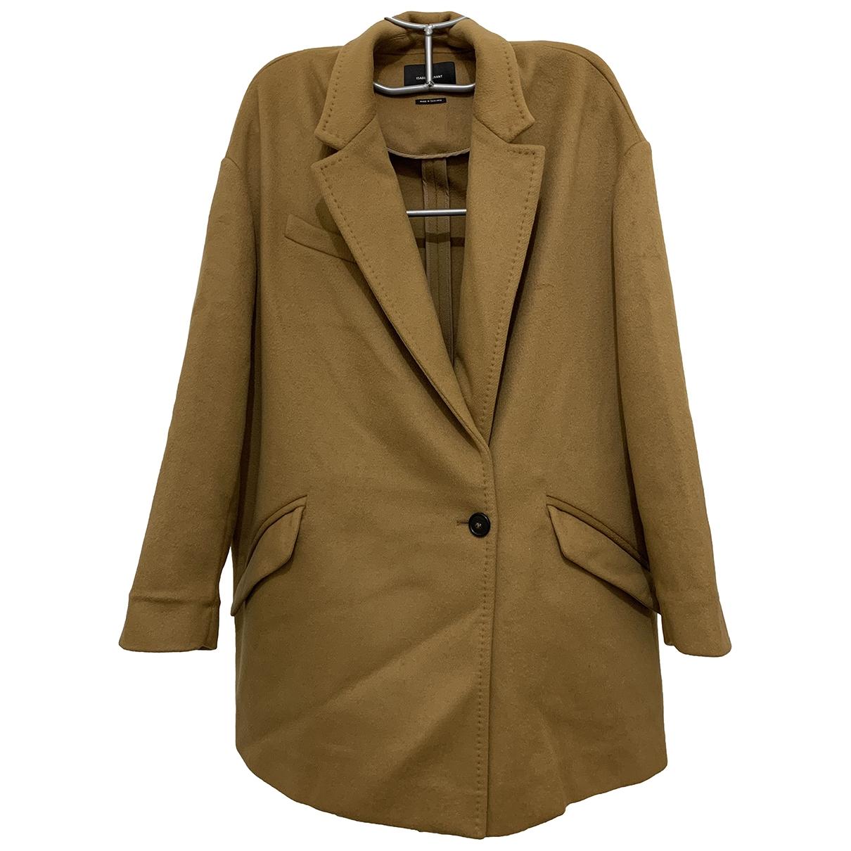 Isabel Marant \N Camel Wool coat for Women 38 FR