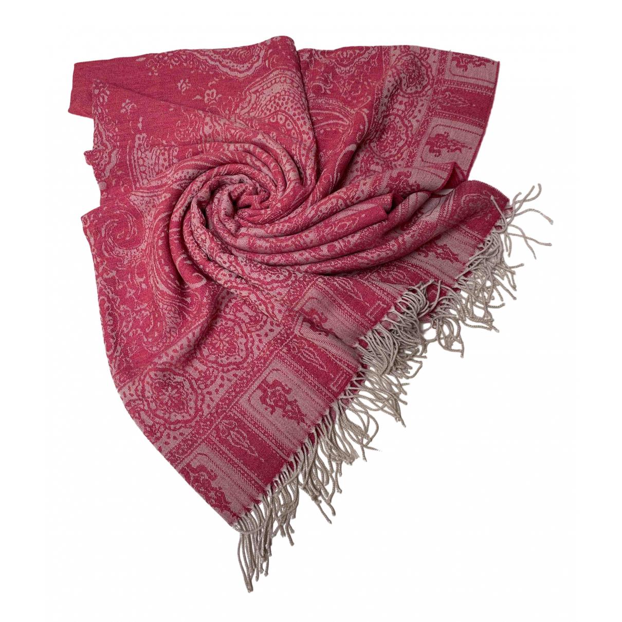 Etro - Linge de maison   pour lifestyle en laine - rose