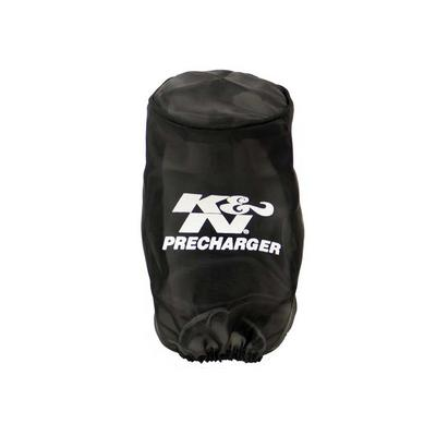 K&N PreCharger Round Straight Filter Wrap (Black) - 22-8010PK