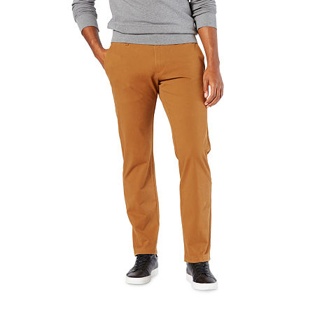 Dockers Men's Ultimate Chino Straight With Smart 360 Flex, 30 30, Brown