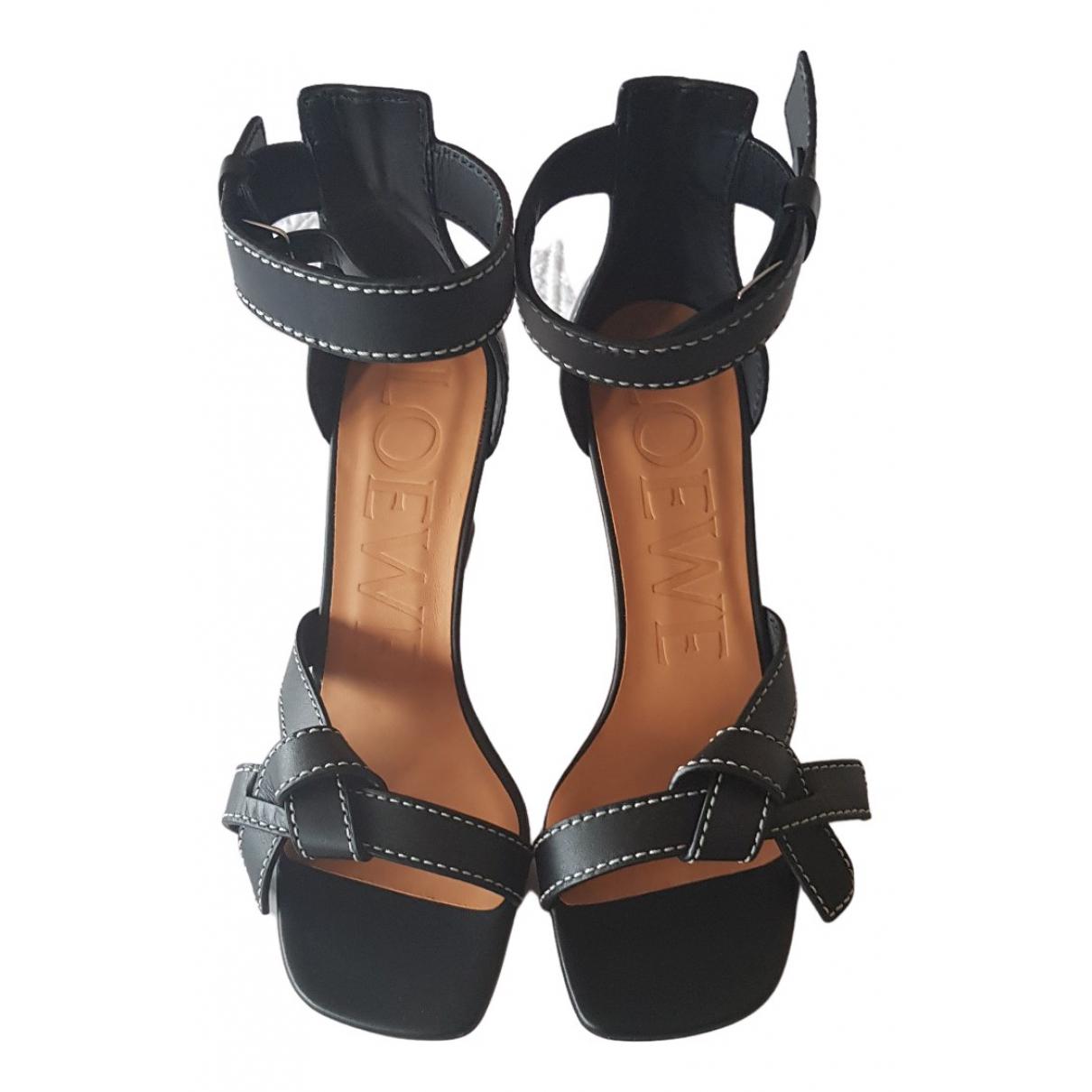 Sandalias de Cuero Loewe