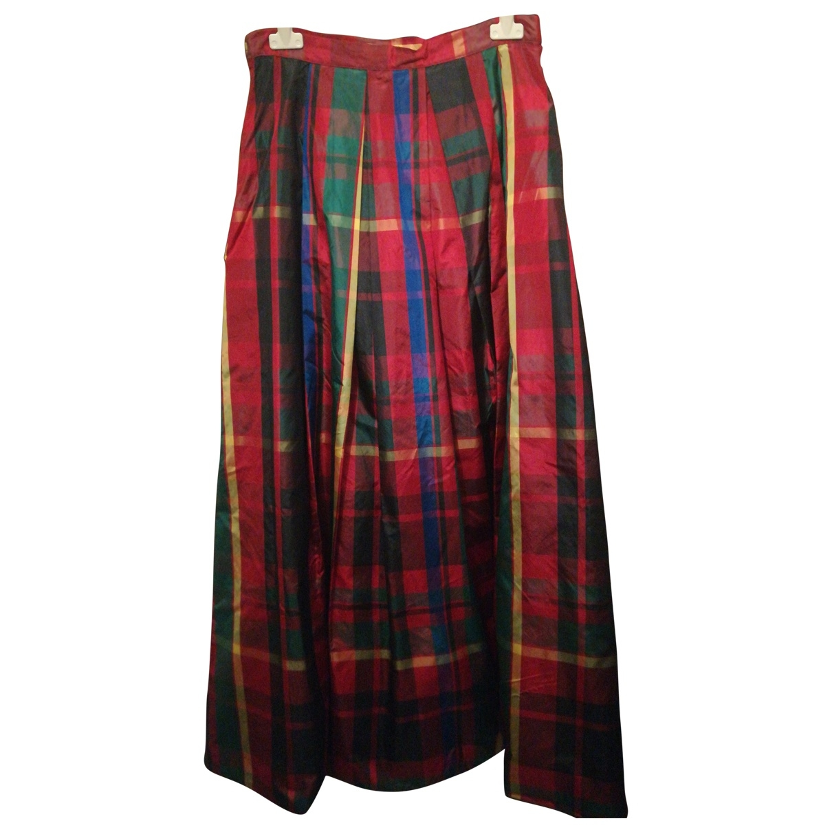 Blumarine \N Multicolour Silk skirt for Women 42 IT