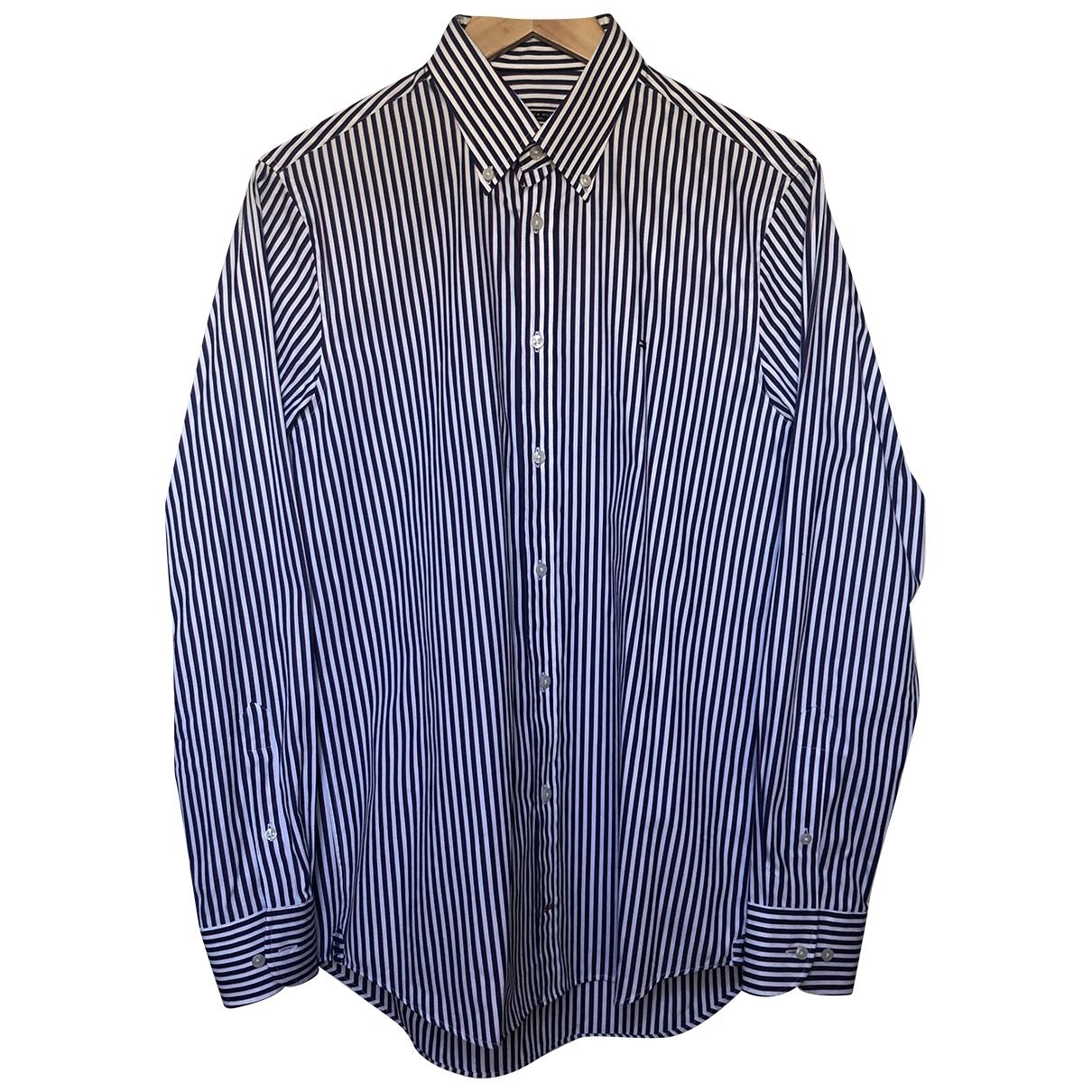 Tommy Hilfiger \N White Cotton Shirts for Men M International