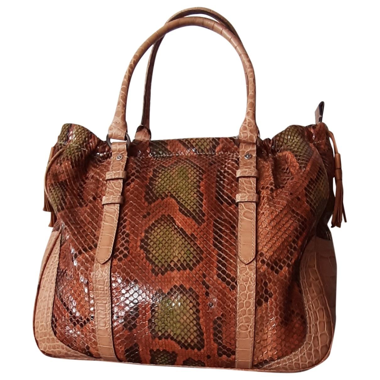 Bogner \N Leather handbag for Women \N