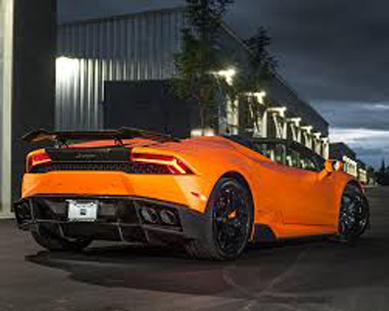 1016 Industries 1016.740.04 Rear Diffuser Lamborghini Aventador LP740 16-20