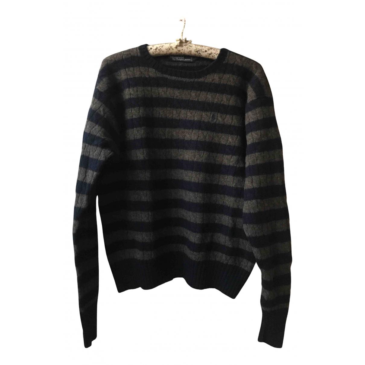 Polo Ralph Lauren N Navy Wool Knitwear & Sweatshirts for Men M International