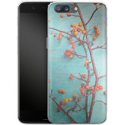 OnePlus 5 Silikon Handyhuelle - She Hung Her Dreams on Branches von Joy StClaire